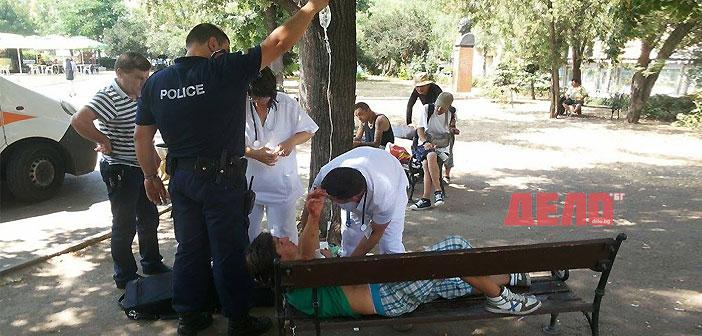 Наръгаха жена с ножица в София