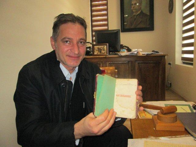 Стефан Филчев, Иван Вазов