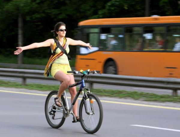 велосипед, велосипедист