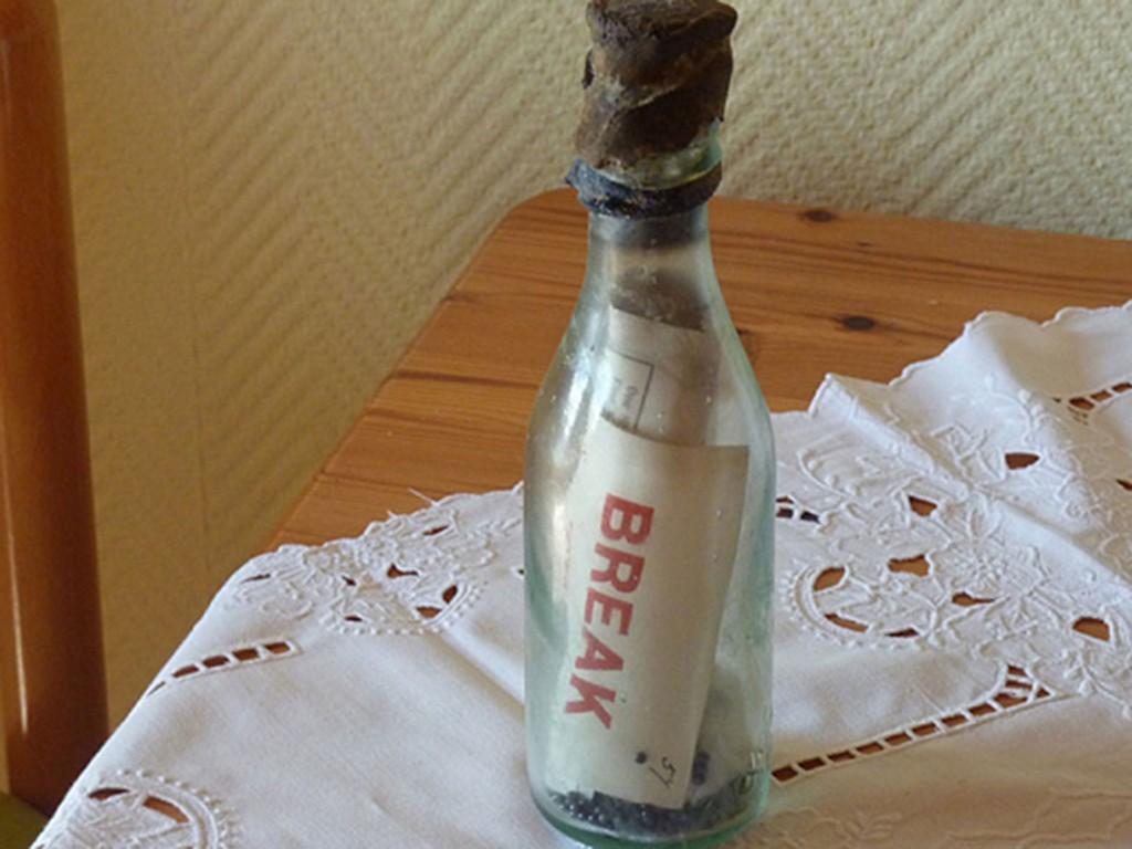 Най-старото писмо в бутилка