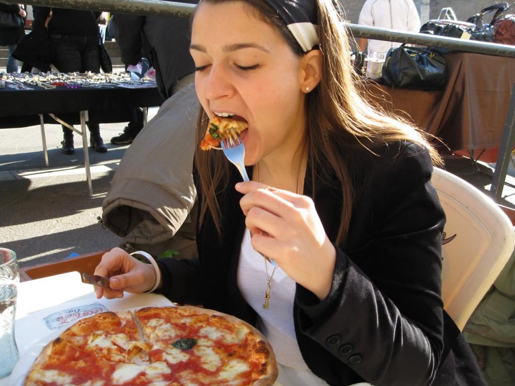 Кажи ми как ядеш пица, за да ти кажа какъв си!