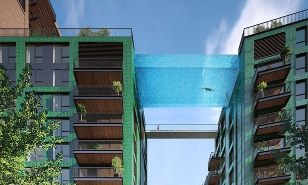 skypool , басейн на бъдещето