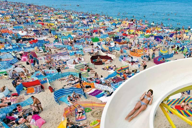 сепаре на плажа, Балтийско море, Полша