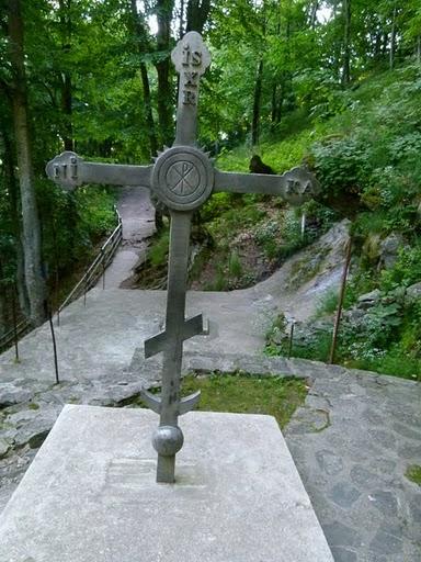 Кръстова гора, 99-килограмовият кръст