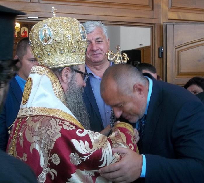 митрополит Николай, Бойко Борисов