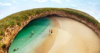 острови Мариета, сепаре на плажа