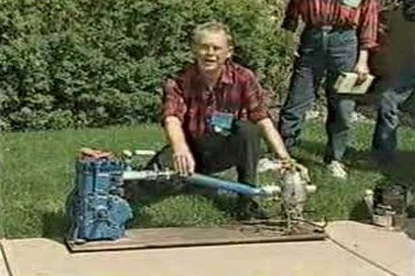 Пол Пентън, воден двигател