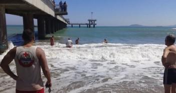 спасителна акция, плаж, Бургас