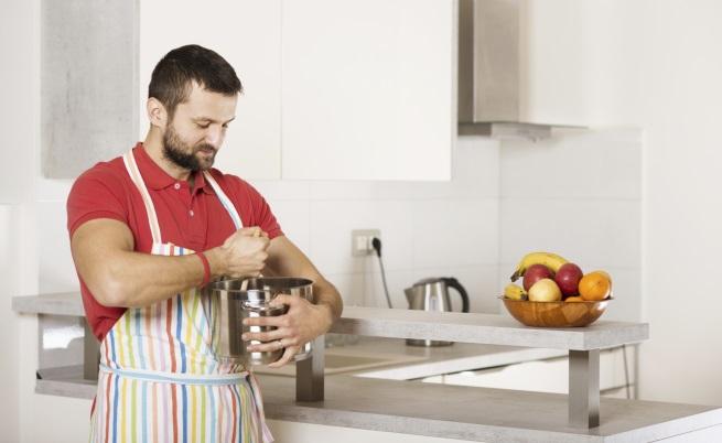 в кухнята