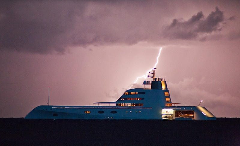 yacht a, яхта, суперяхта, милиардер, Андрей Мелниченко