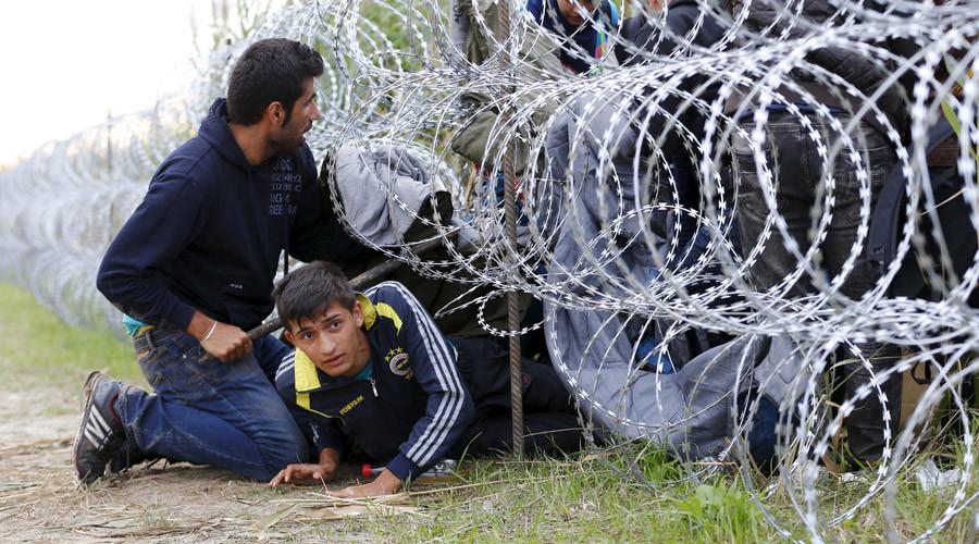 Унгария, бежанци, мигранти, Хърватия