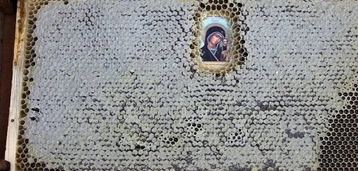 пчели, икони
