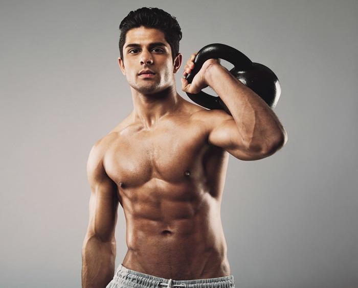 мускули, културистите, слаби хора