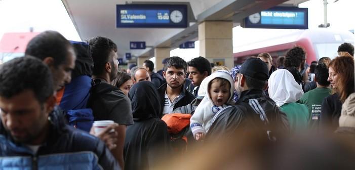 бежанци, Европа, Австрия, Германия