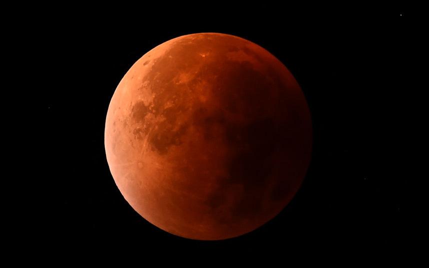 Кървава луна, суперлуние