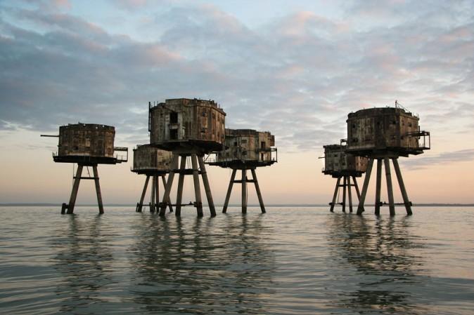 Морските фортове Маунсел (Северно море, Англия)