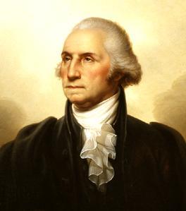 мъже с дълги коси, Джордж Вашингтон