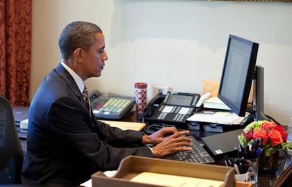 продължителното заседяване не пречи на здравето, Барак Обама