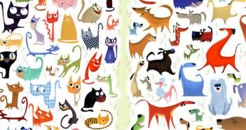 котки, кучета, тест, Боб Стаак