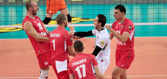 волейбол, България, Холандия, Евроволей 2015