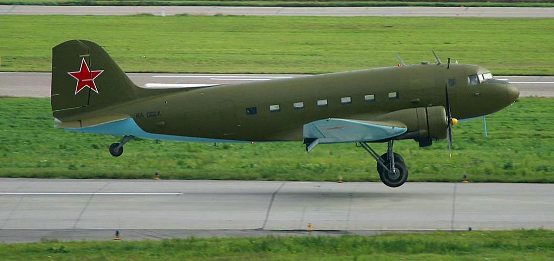 Веселин Калановски, полет, самолет, Douglas DC3, Ли-2