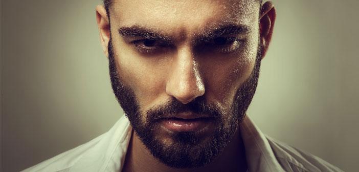 мъж с брада, лошо момче