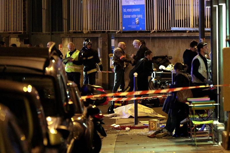 Париж, експлозии, взрив, атентат, стрелба, Франция