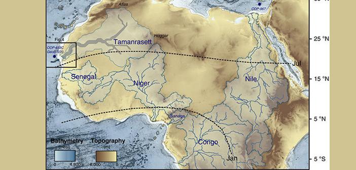 древна река, Сахара