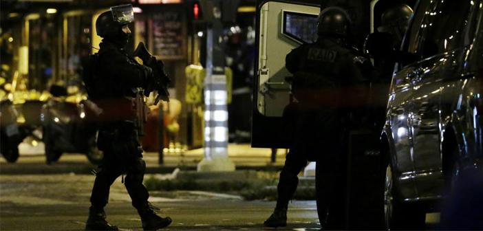 терористи, тероризъм, акция, Сен Дени, Париж