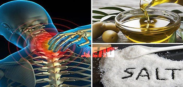 микс от сол и зехтин лекува болките с години напред