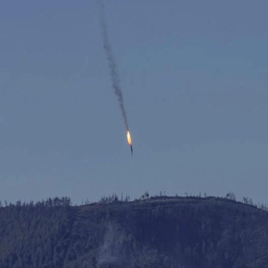 Турски изтребители свалиха руски боен самолет