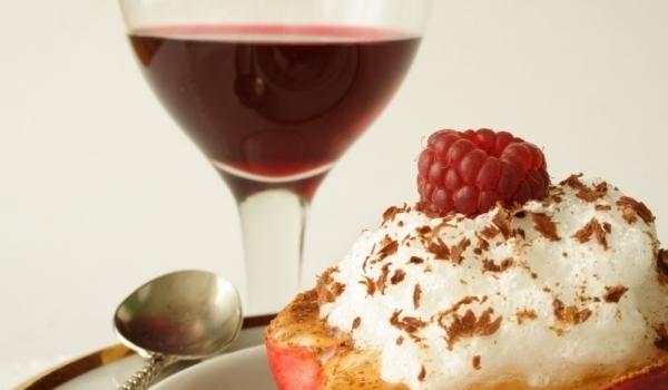 вино и десерт,