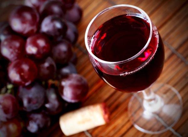 4erveno vino