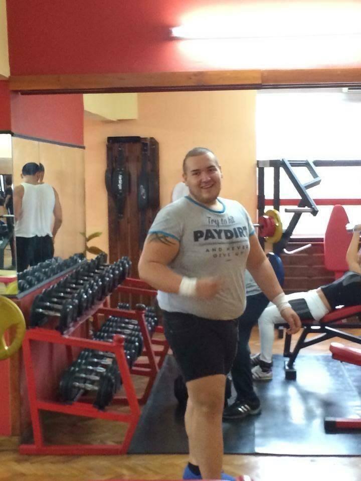 Андриан Аспарухов, Първомайци, свалил 70 кг за година