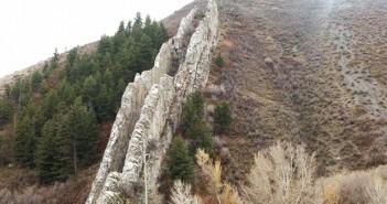 Дяволската първалза, Devil's slide, Юта, САЩ, природен феномен