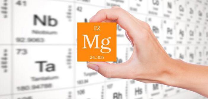 Недостигът на магнезий води до по-бързо стареене на тялото ни. Олигоелементът участва и в растежа на костите, спомага за съкращаването на мускулите, необходим е за добрата работа на мозъка и нервната ни система. Функцията му е важна и в образуването на антитела и предпазването на организма ни от инфекции. В повечето случаи човек получава чрез храната само част от нужната дневна доза магнезий. Според скорошни изследвания 77 на сто от жените и 72 на сто от мъжете изпитват недостиг от този елемент. Мъжете трябва да приемат по 420 грама на ден, а за жените препоръчителната доза е 360 грама. Страничните ефекти от недостатъчното количество магнезий в тялото ни са обща умора, сърцебиене, раздразнителност, изтръпване на пръстите, лош сън, гърчове, чупене на ноктите, и дори цъфтеж на косата. В случаи като тези се препоръчва медикаментозно приемане на магнезий за около месец, но след консултация с лекар.