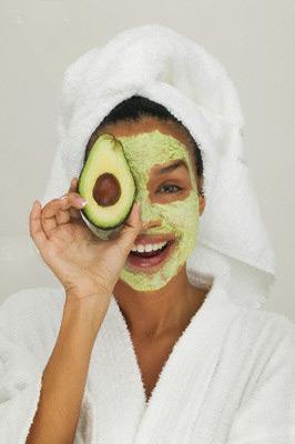 Маска за лице от авокадо