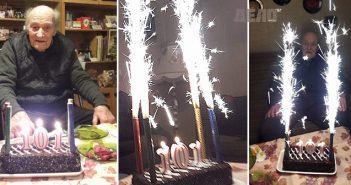 дядо Митко на 101 години