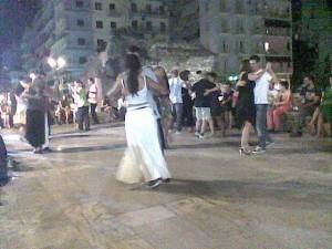 танго, танц, страст, Солун