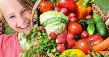 зеленчуци и плодове за децата