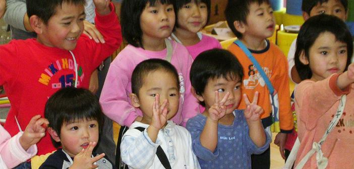 японските деца никога не плачат