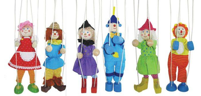 Еленко Ангелов, кукли на конци