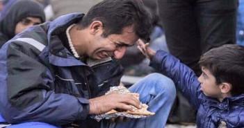 докато, човек, бежанци