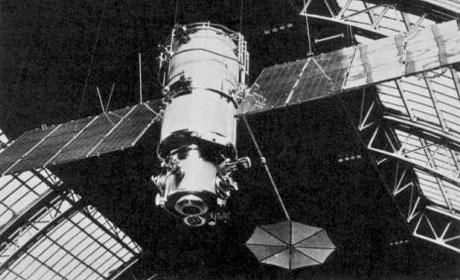 първият съветски метеорологичен спътник, 26 март 1969 г.