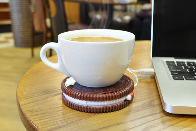 Портативен USB нагревател за кафе, подарък за дипломиране