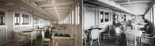 """И в """"Титаник 2"""" кафенето прилича на тези, които можем да видим във френската столица Париж"""