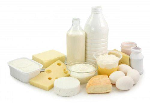 рак на гърдата, мляко, млечни продукти