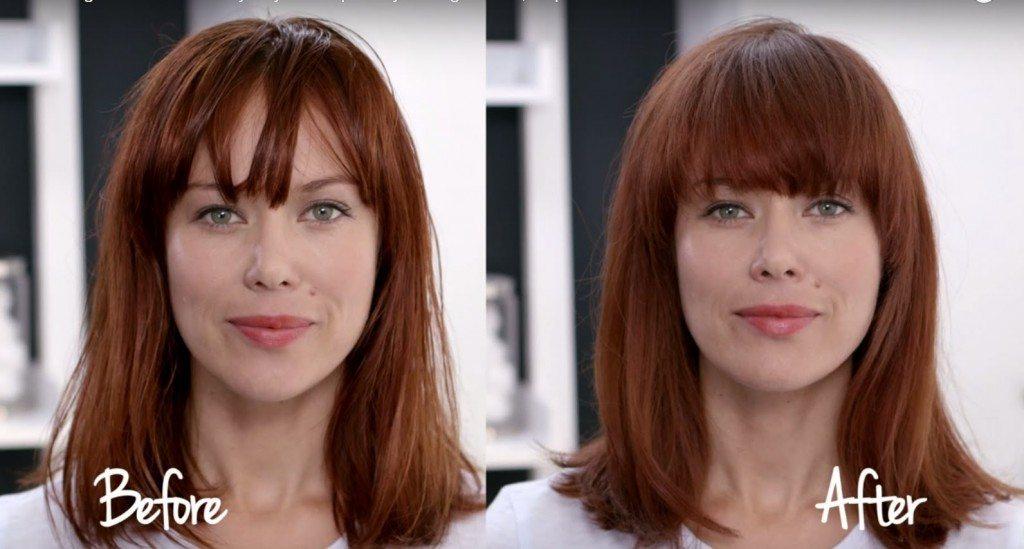 как да освежим мазната коса
