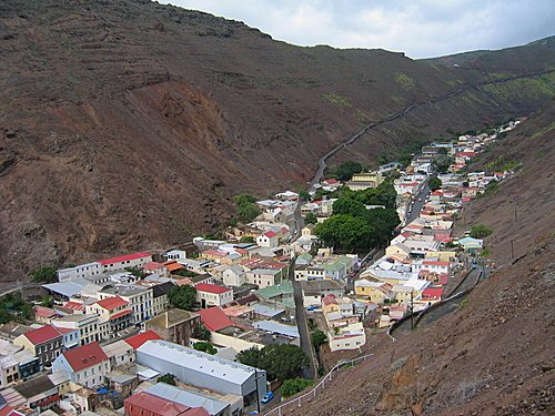Столицата на остров Света Елена