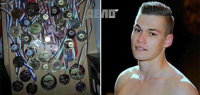 Алекс Иванов, плуване